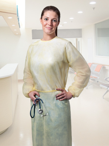 Representative image for Isolation Gowns