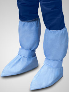 48825B-&-48835B-Boot-Covers-With-Ankle-Strap-and-Foam-Tread