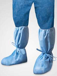 48925B-&-48935B-Boot-Covers-With-Ankle-Ties-and-Foam-Tread